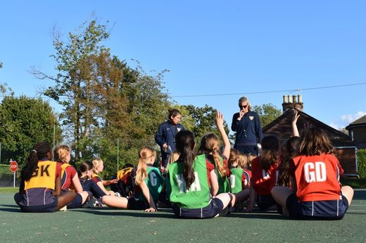 Guest Netball Coach, Sam Houghton (Surrey Storm Pathway Coach)