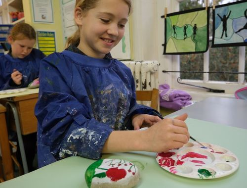 Form One Art Poppies Rydes hill 17 of 30