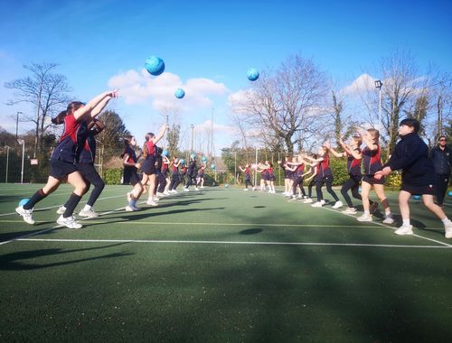 Netball Cross country Rydes Hill Prep School 1 of 9