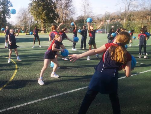 Netball Cross country Rydes Hill Prep School 5 of 9