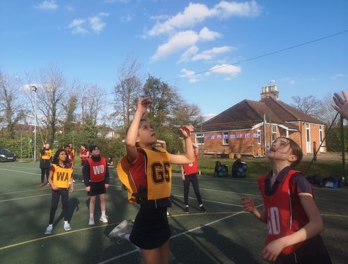 Netball Cross country Rydes Hill Prep School 8 of 9