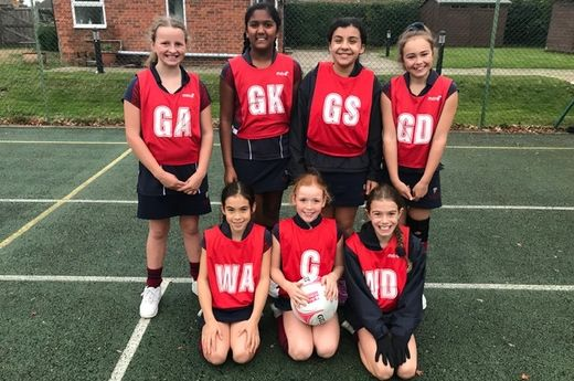 Netball Matches w/c 13th November